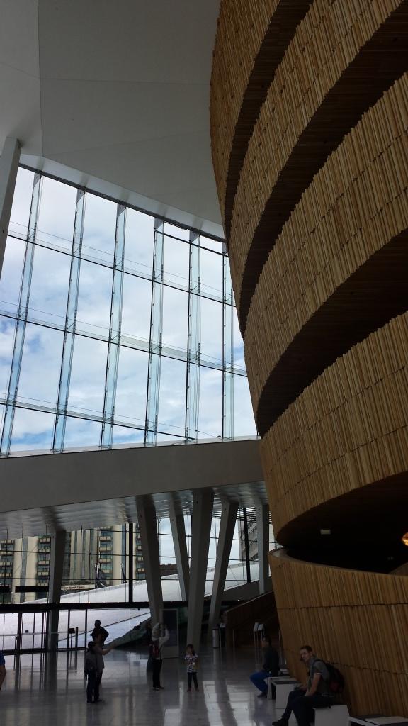 Intérieur de l'opéra d'Oslo