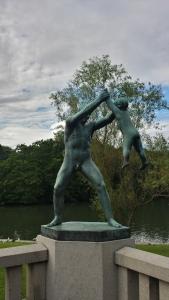 Statue parc Vigeland