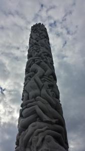 Statue centrale du parc Vigeland