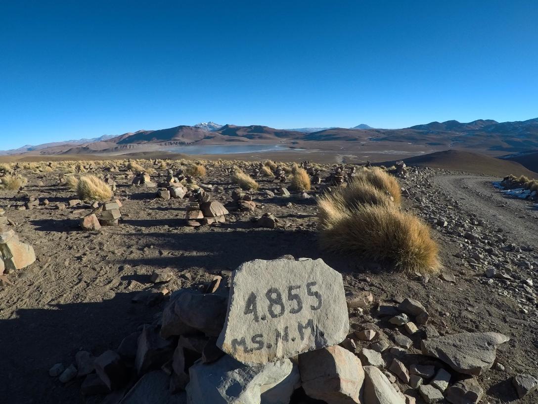 Passage à 4855 mètres !