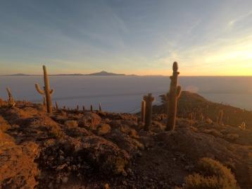 Salar d'Uyuni à l'aube