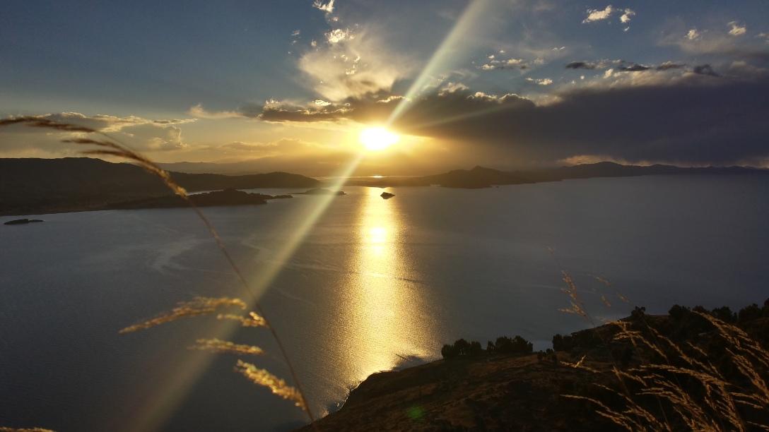 Coucher de soleil Amantani