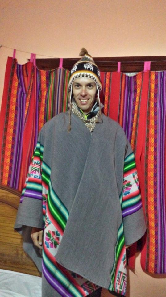 Tenue traditionnelle Quechua