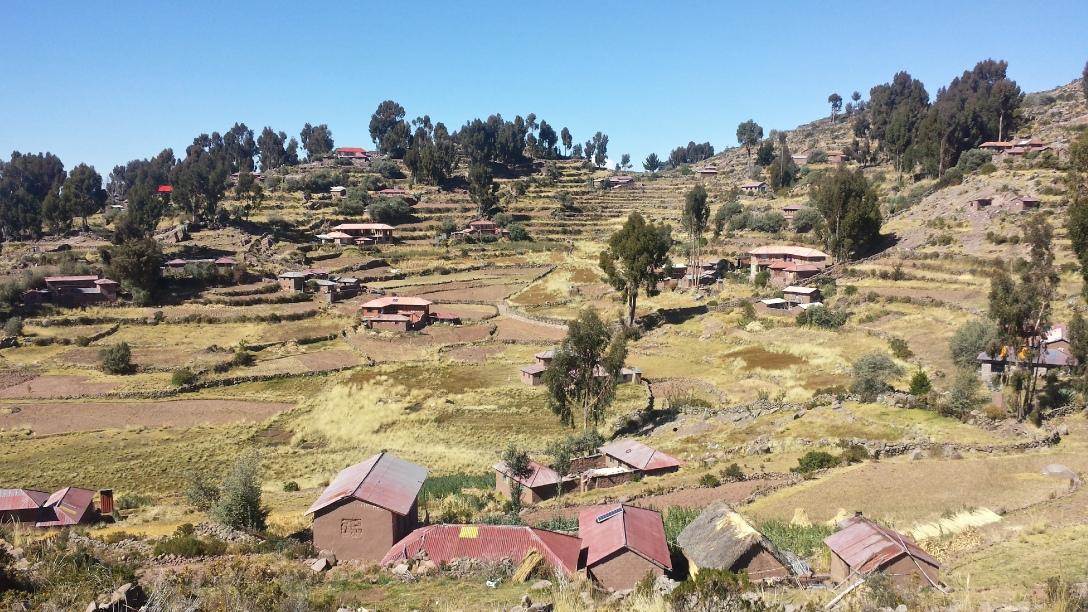 Ile de Taquile Lac Titicaca