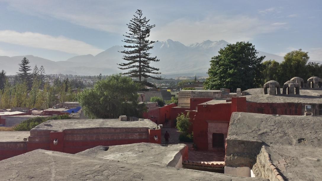 Volcan Chachani Monastère Santa Catalina