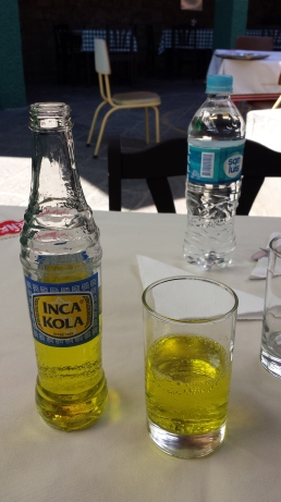 Inca Kola, la boisson nationale !