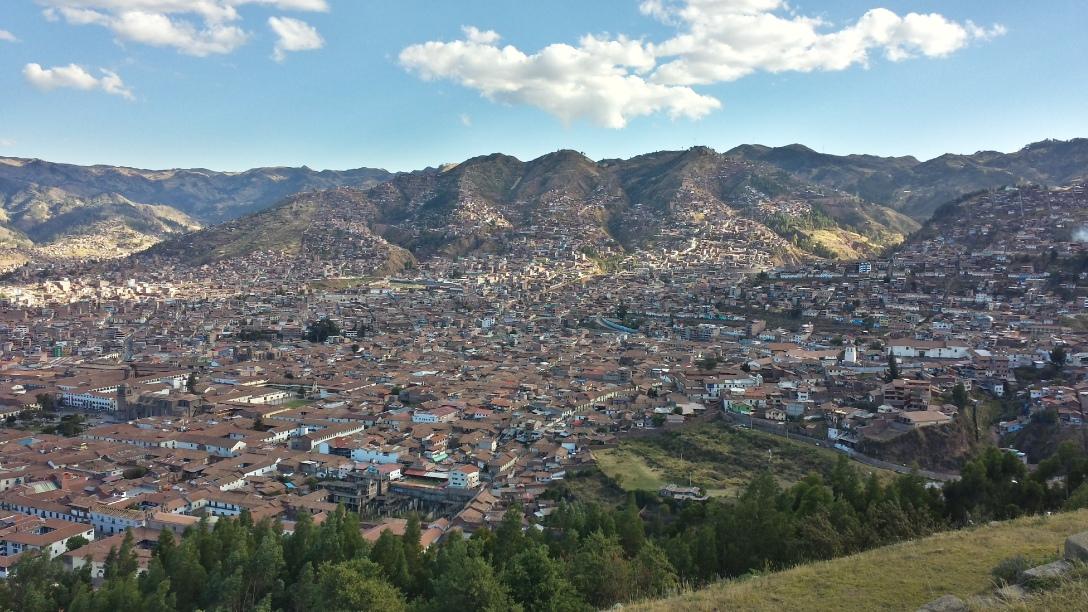 Vue de Cusco depuis Sacsaywaman