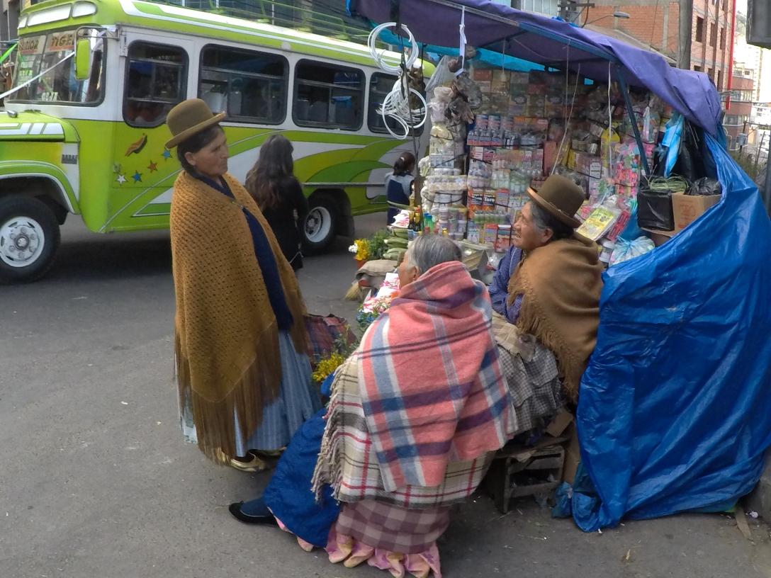 Marché à La Paz