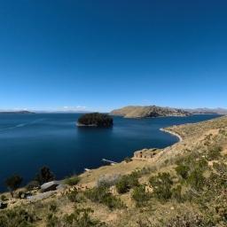 Copacabana, le lac Titicaca et l'Isla del Sol