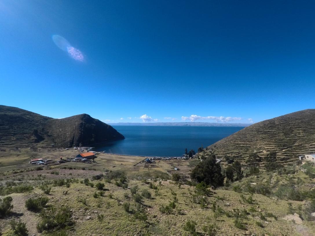 Route vers Challa Isla del Sol