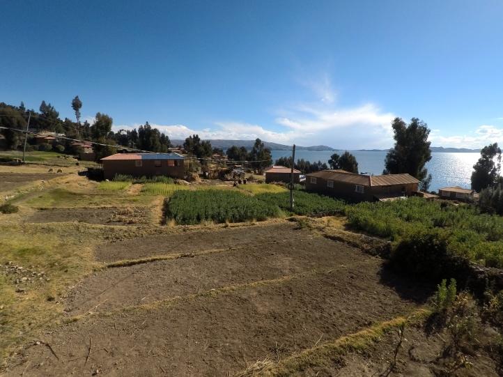 Vue de l'île d'Amantani