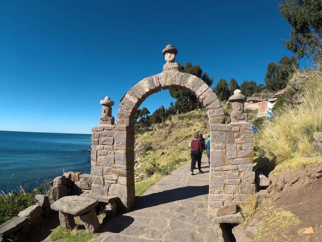 portique de Taquile