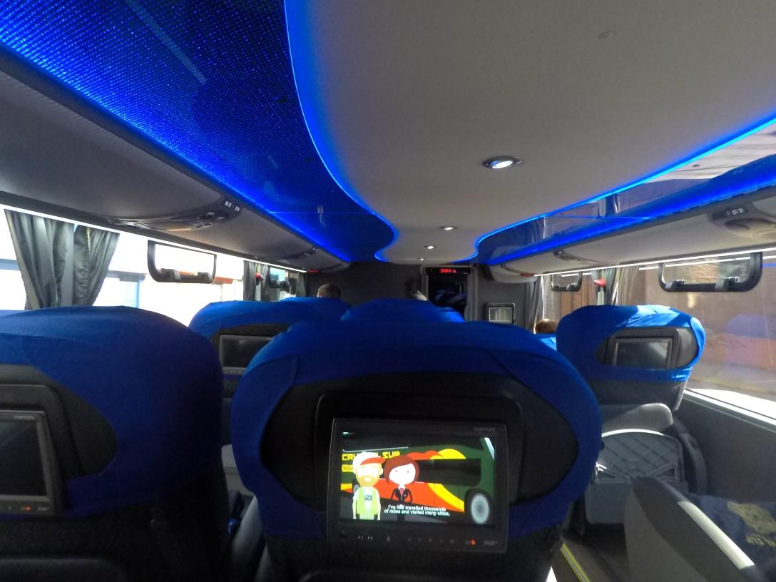 Bus Cruz del Sur Puno Arequipa