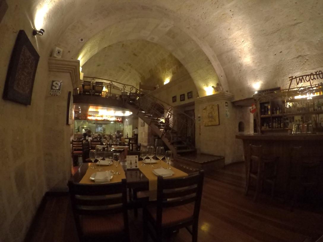 Restaurant Le Zingaro Arequipa
