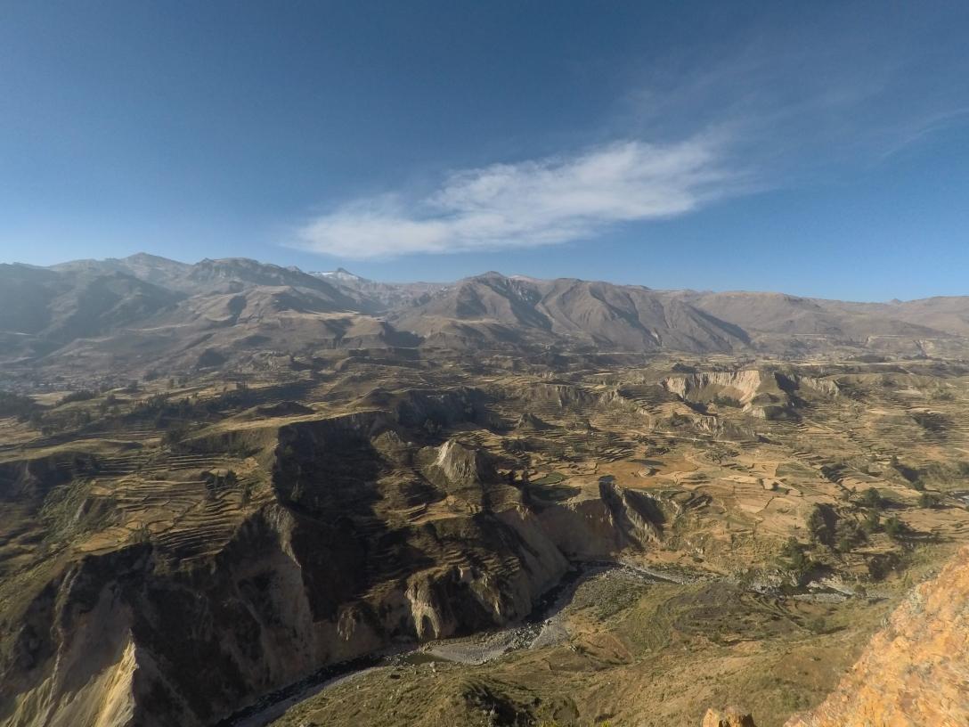 La superbe vallée du Colca