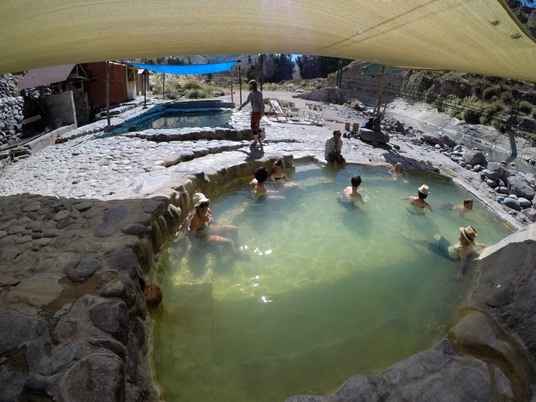 Eaux thermales Colca Arequipa