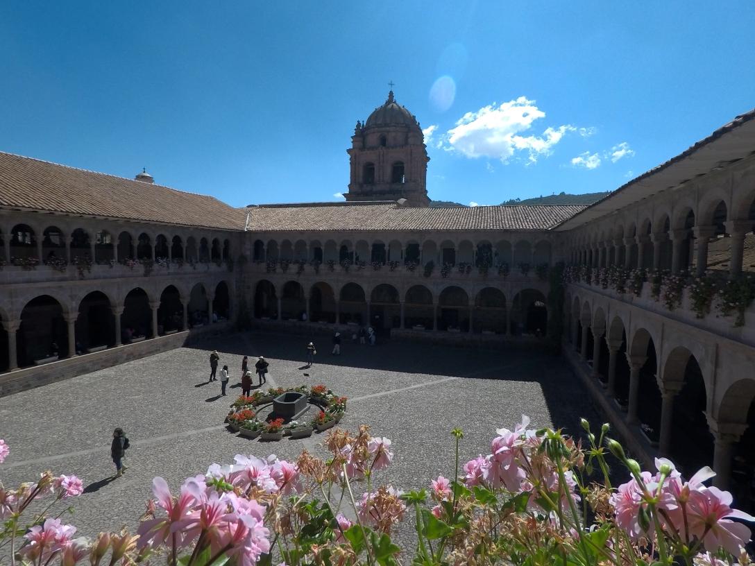 Interieur Qorikancha Cusco