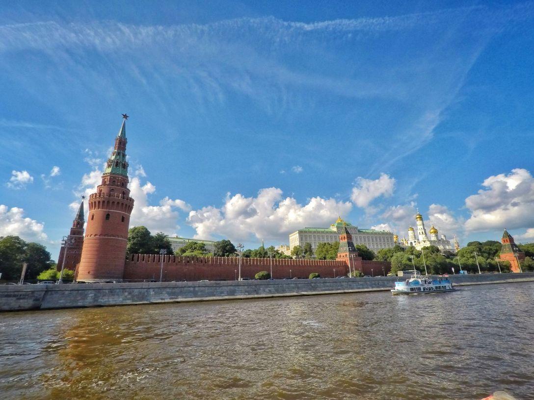 Kremlin riviere Moskova