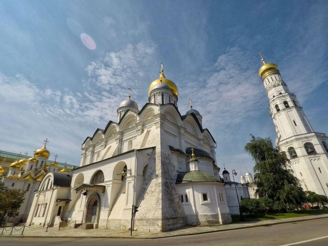 Une des églises du Kremlin