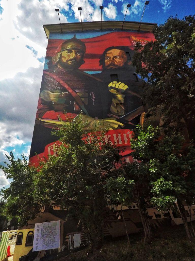Peinture murale Kremlin