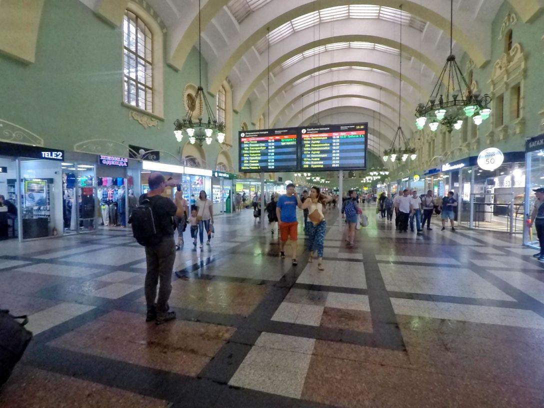 Hall Gare Kazan Moscou