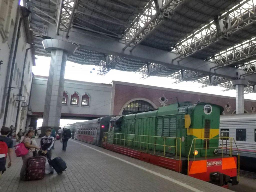 Transsiberien Moscou