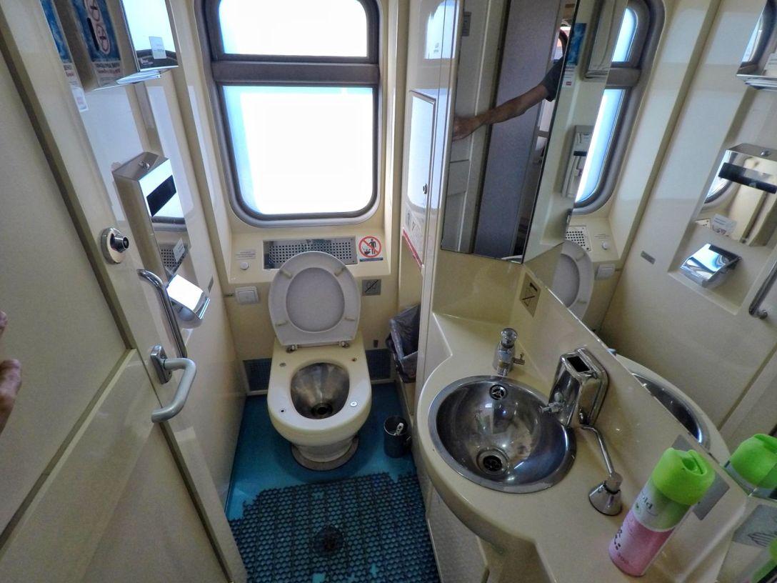 Toilettes transsiberien