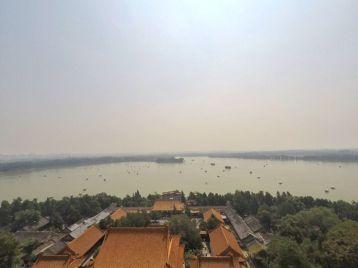 Vue sur le lac du palais d'été