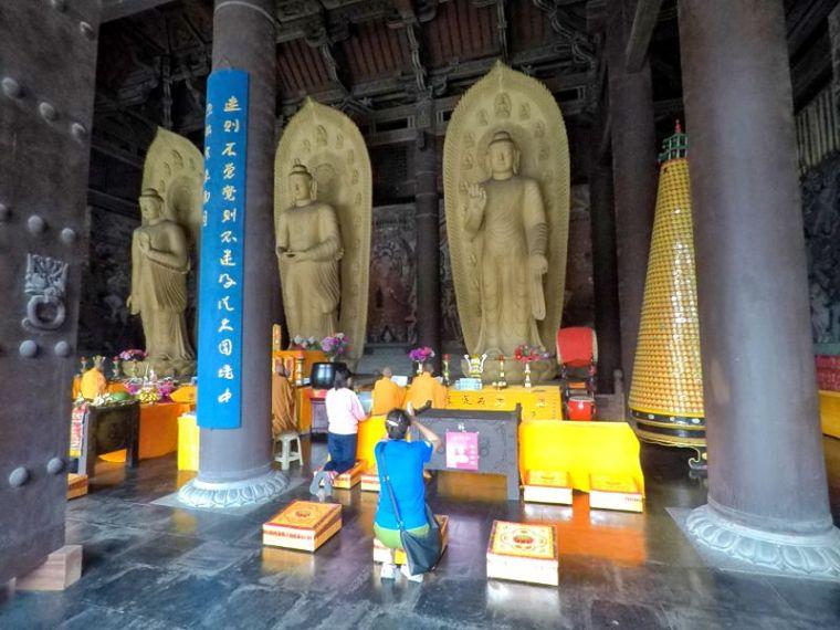Saint Bouddha priez pour nous
