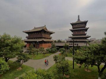 Au temple Huayan