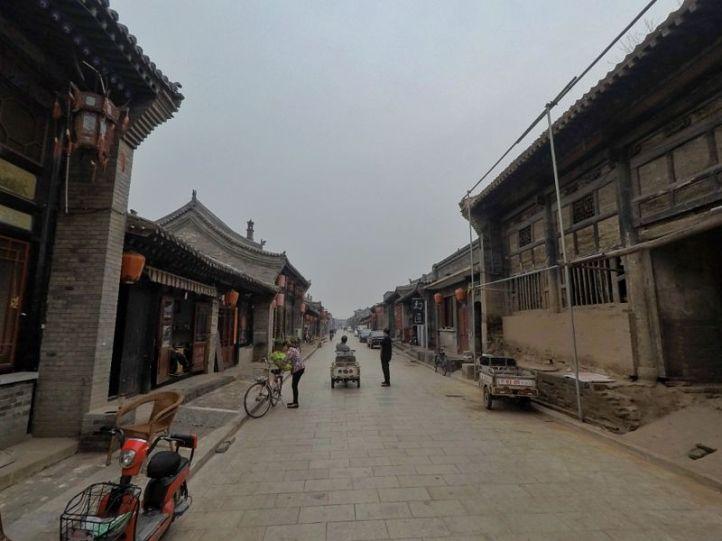 Dans les vieilles rues de Pingyao