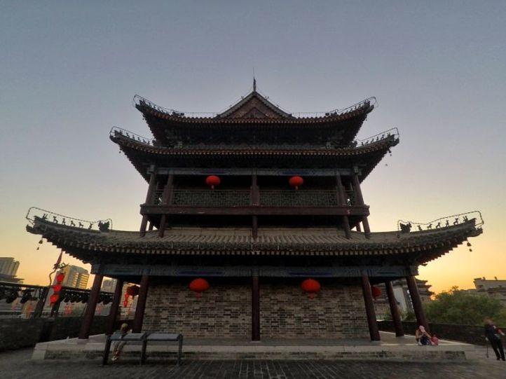Une des tours des murailles de Xi'An