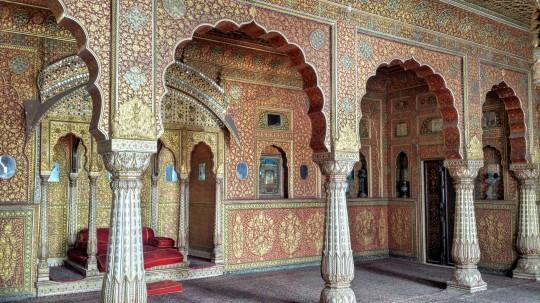 Belles peintures dans le fort