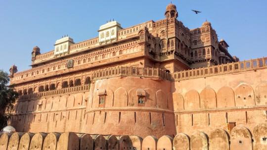 Extérieur du fort de Bikaner