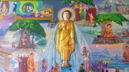 L'histoire du Bouddha en peinture (Chaukhtatgyi)