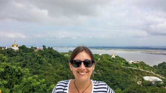 Belle vue depuis la colline de Sagaing