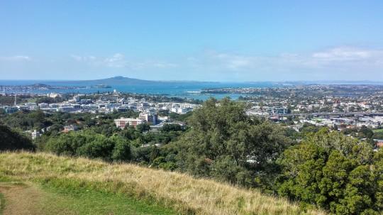 Vue d'Auckland depuis le Mount Eden