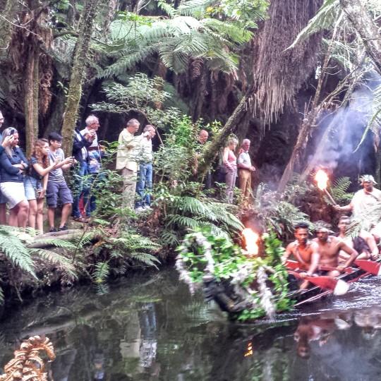 Mitai Maori village
