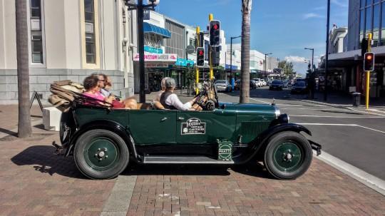 La voiture idéale pour Napier