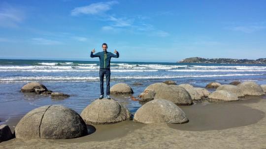Les mystérieux Moeraki boulders