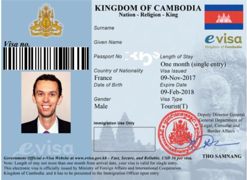 eVisa_cambodge