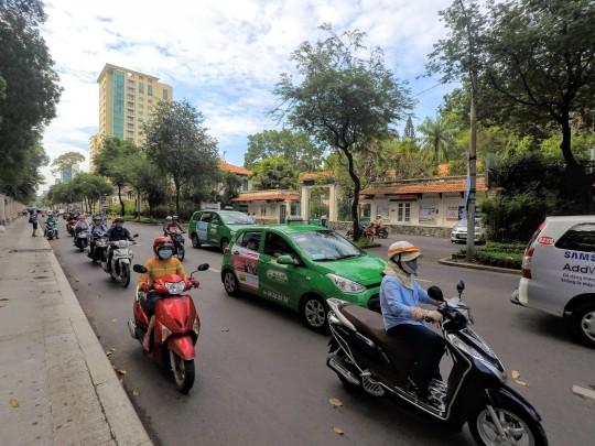 Dans les rues de Ho Chi Minh