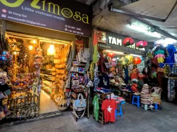 Boutiques à Hanoï