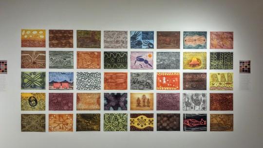Oeuvres d'artistes aborigènes