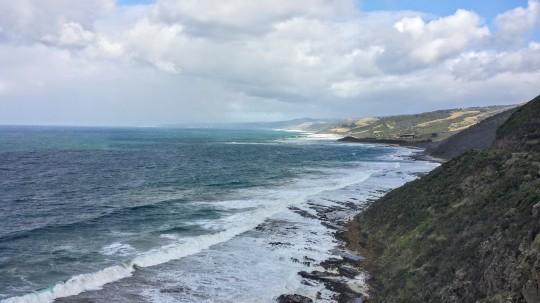 Le long de la Great Ocean Road