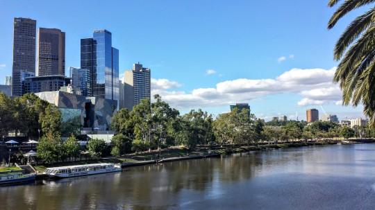 Melbourne sous le soleil