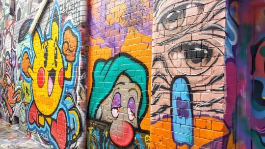 Le street art de Melbourne