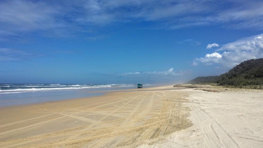 Les plages interminables de Fraser Island