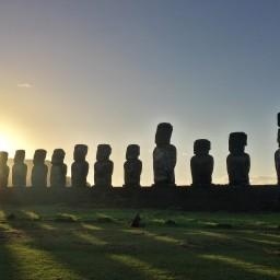 L'Île de Pâques et ses fameuses statues en 1 semaine