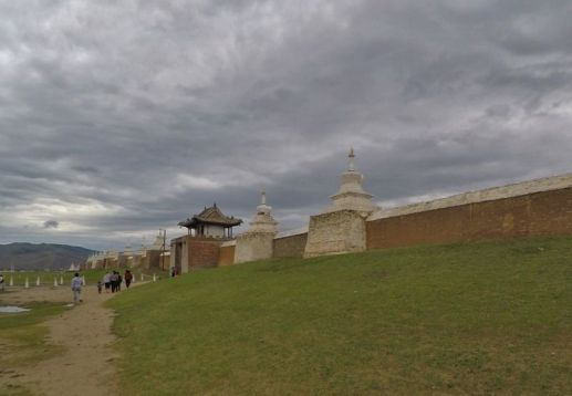 Murailles de Karakorum...Genghis !